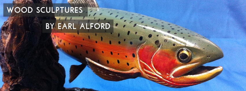 Wood Sculptures by Earl Alford